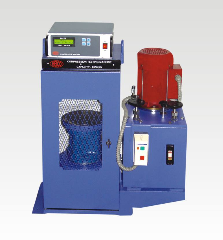 compression testing machines with digital readout unit