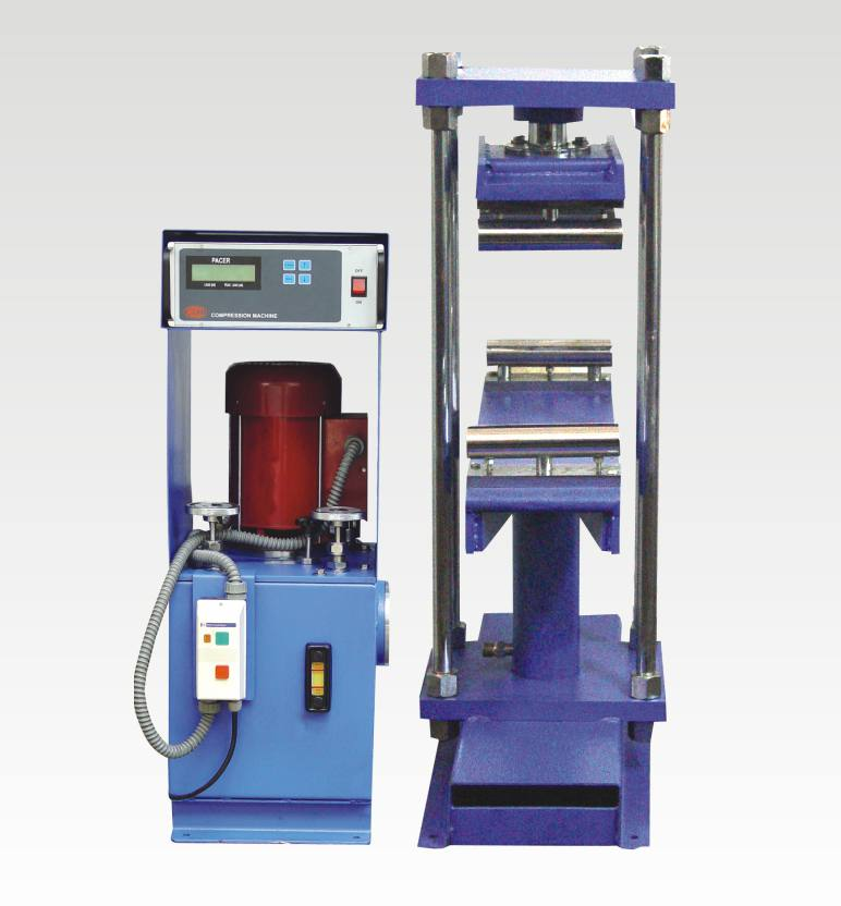 electronic flexure strength testing machine